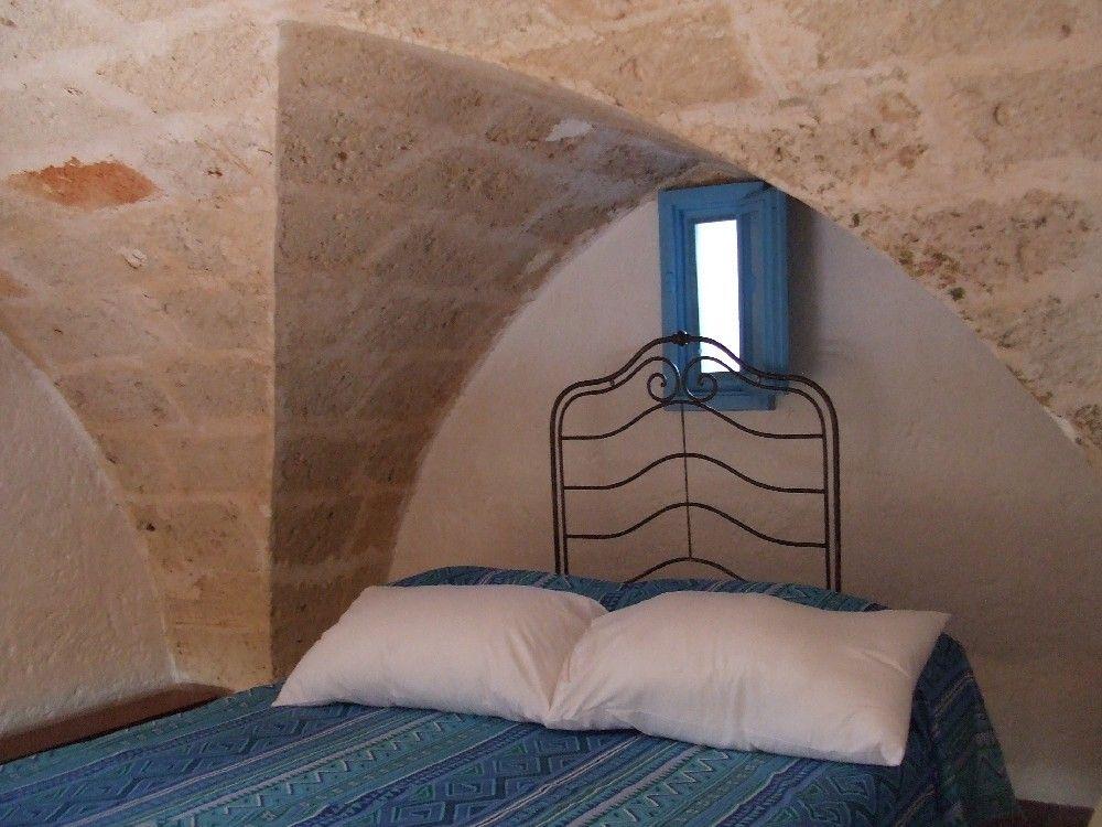 Masseria - Ostuni - vacanze - alloggio 2 - letto - soppalco
