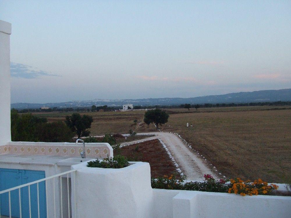 Masseria - Ostuni - terrazzo - veduta